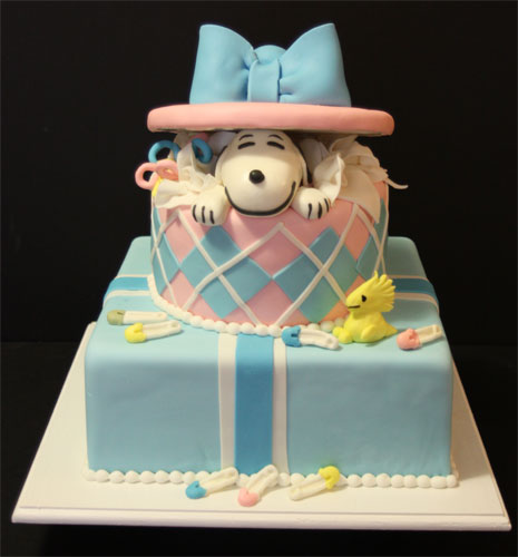 ... Baby Shower Cakes · Snoopy ...